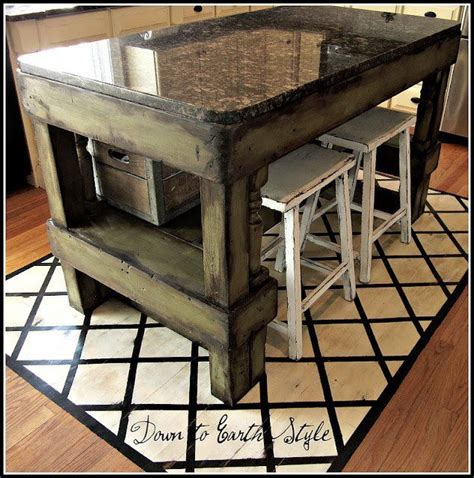 diy kitchen island table painted floor unique kitchen island diy style and