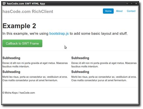 bootstrap javascript layout hascode com 187 blog archive 187 creating an offline rich
