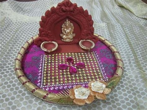 Star Aarathi Creations ,Aarathi Plates Decorations