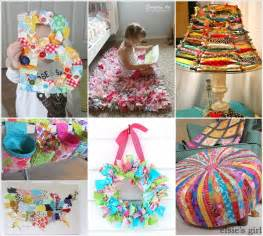 creative ideas to decorate home 15 creative ideas to recycle fabric scraps for home decor