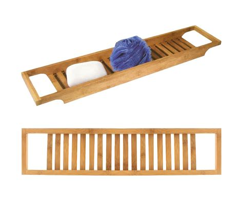 support de baignoire pont de baignoire support de bain luxe en bambou fa 231 on spa