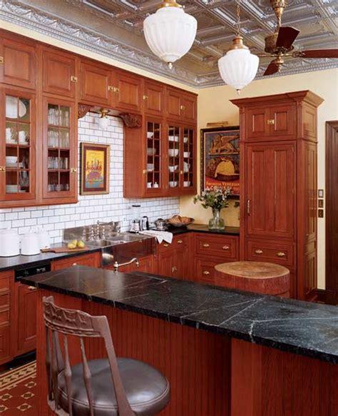 reinventing  victorian kitchen  house