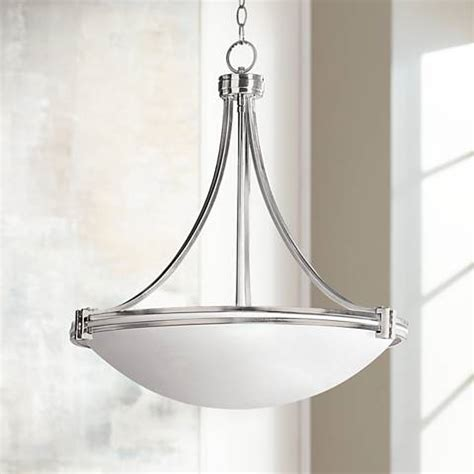 possini lighting possini design deco nickel 24 1 4 quot wide pendant light 85951 ls plus