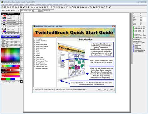 sketchbook pro baixaki twistedbrush open studio