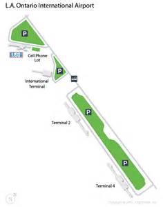 ont la ontario international airport terminal map