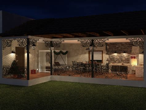 Veranda 3d by 3d Visualization Veranda