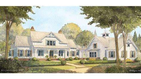 Southern Cottage House Plans Cedar River Farmhouse Southern Living House Plans