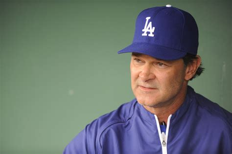 don mattingly pictures los angeles dodgers v san