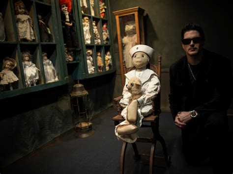 haunted doll in museum zak bagans talks deadly possessions his museum and the