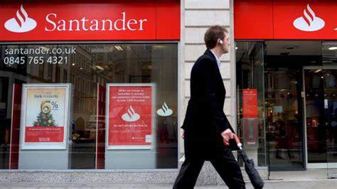 banco santander londres bancos santander y deutsche bank suspenden los test de