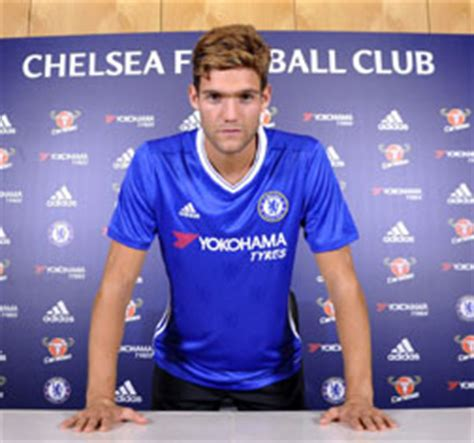 Jersey Bola Marcos Alonso 3 Chelsea Home 2017 2018 Grade Ori players appearances aa az