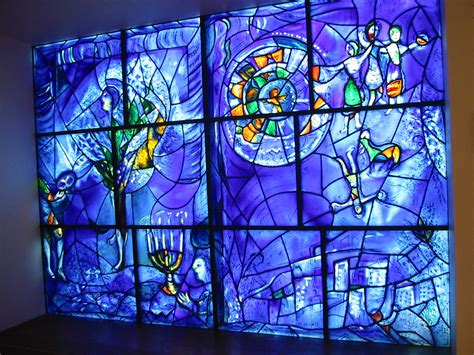 küchenfenster design stained glass window designed by chagall design um s