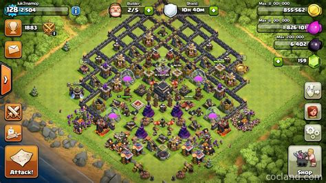 layout for th9 depth deception remarkable th9 trophy pushing layout