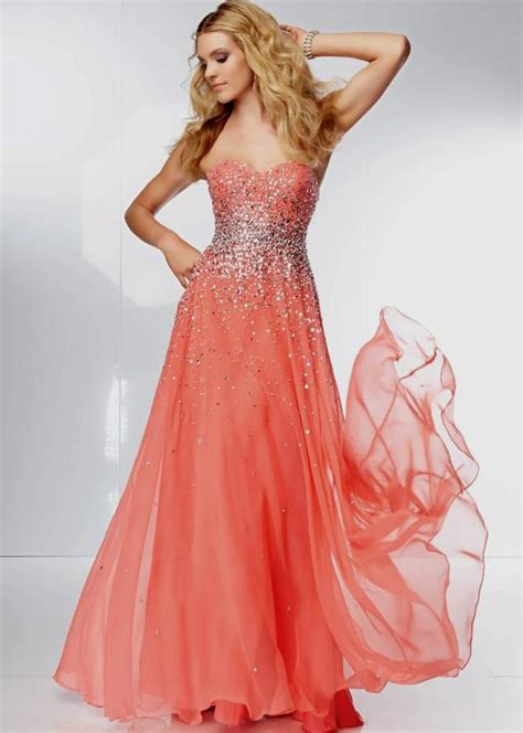 Bright Coral Prom Dresses - coral colored prom dresses www pixshark images
