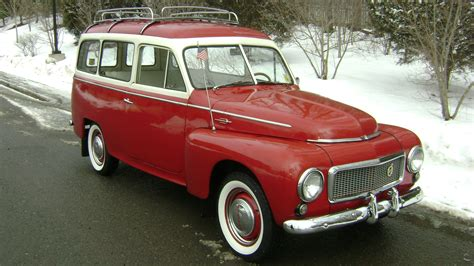 classic volvo sedan 1958 volvo pv445 ph duett station wagon classic old retro