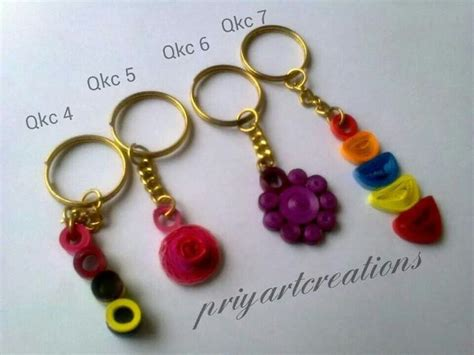 How To Make Paper Key - 31 best images about quilling key chains on