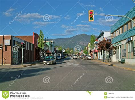 pictures of downtown bc downtown creston bc canada editorial stock image image