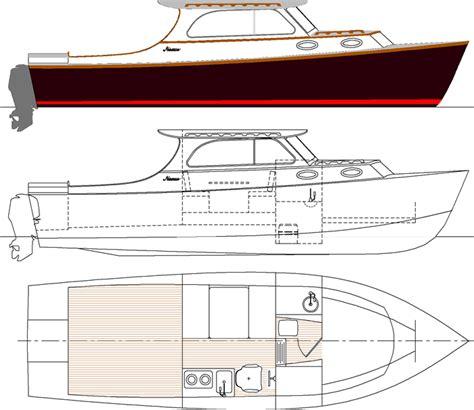 lobster boat designs plans dinghy for sale chicago wooden lobster boat plans
