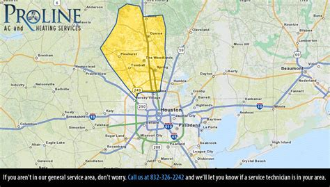map of magnolia texas air conditioning repair service in magnolia texas proline ac and heating services
