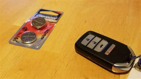 replace remote keyless entry battery   honda civic  youtube