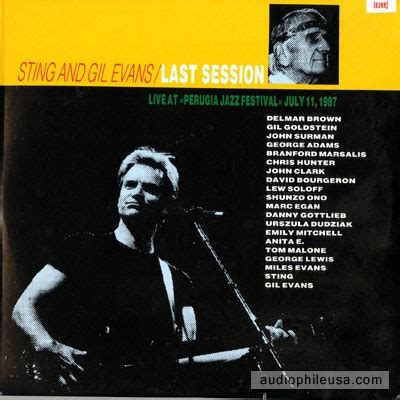 Cd Audiophile Sting The Last Ship Usa sting and gil last session vinyl lp album at