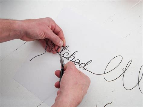 wire hanger letter template 39 wire letters with diy guide patterns