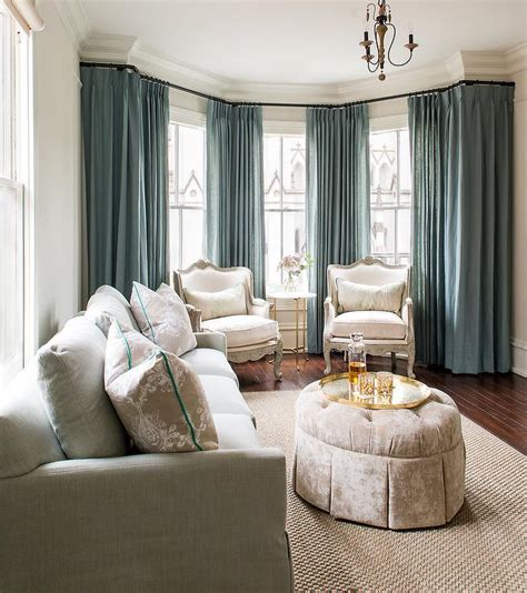 furniture blue living room curtains dark blue curtains living room bay window with black chaise lounge bench