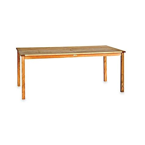 72 inch dining table rectangle buy brunswick 72 inch rectangle dining table from bed bath