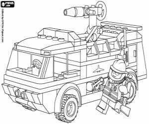 lego fire truck coloring page lego coloring pages printable games