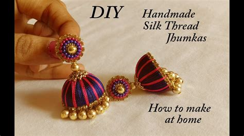 How To Make Paper Jewellery At Home - how to make paper earrings jhumkas at home 28 images
