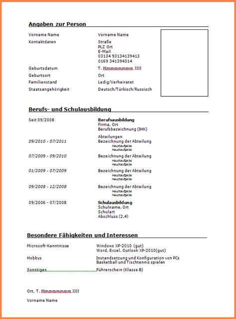 Lebenslauf Muster Führerschein 10 Lebenslauf F 252 Hrerschein Klasse B Transition Plan Templates
