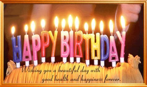 A Happy Birthday Card. Free Birthday Wishes eCards