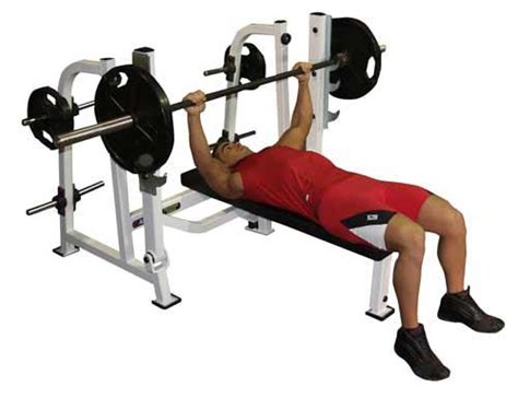 flat bench press exercise the big fat effective exercise list lean it up