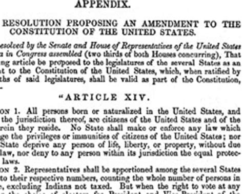 What Does Section 2 Of The 14th Amendment by Education From Lva Fourteenth Amendment