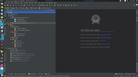 android layout xml validator android studio created notification