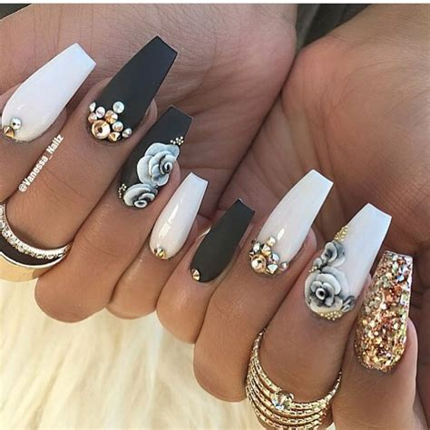 best 25 coffin nail designs ideas on