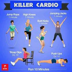 home cardio workouts simple yet killer cardio workouts fitness