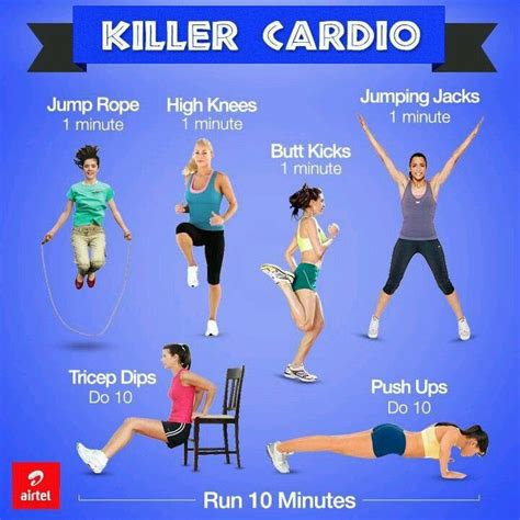 simple yet killer cardio workouts fitness