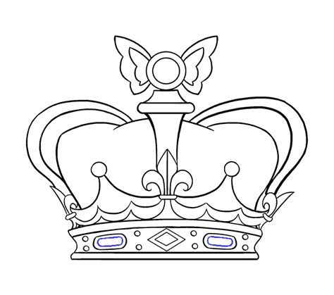 crown drawing the king crown tattoo ideas on queen jpg