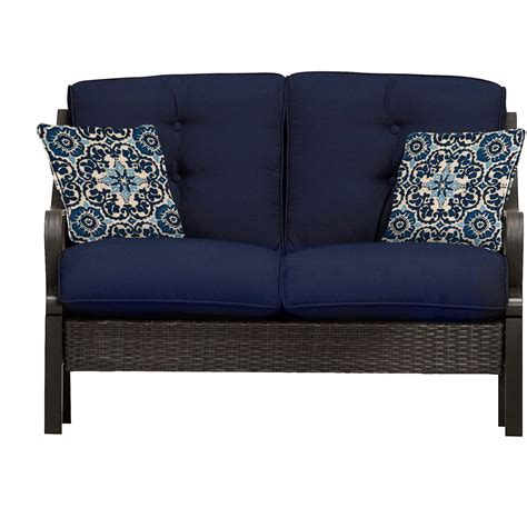 Ventura 4 piece seating set in navy blue ventura4pc nvy