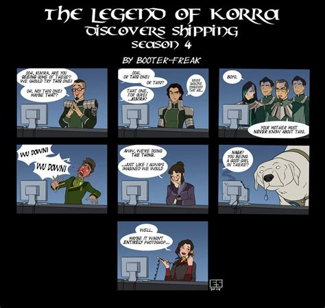 Legend Of Korra Memes - the legend of korra discovers shipping book 4 avatar