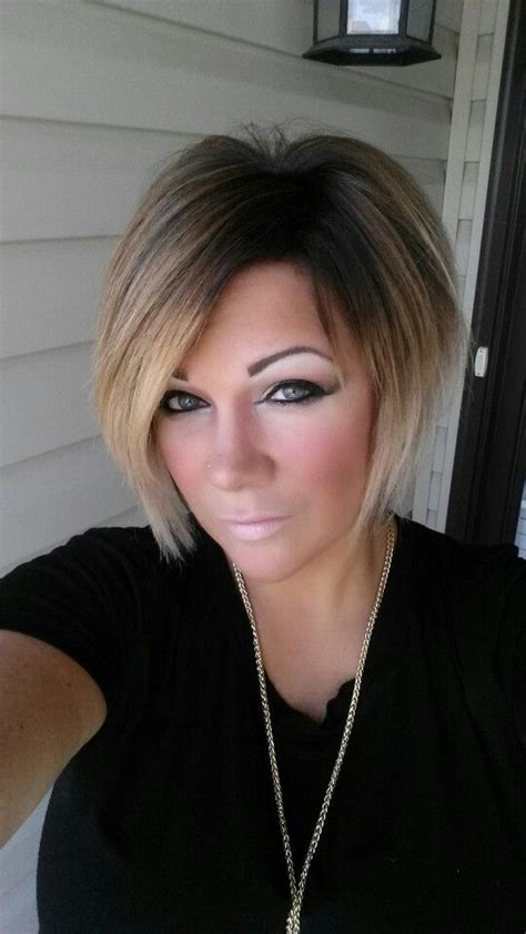 Show Mw Pics Of Swimg Bpbs | my short swing bob ombre haircolor i love it all