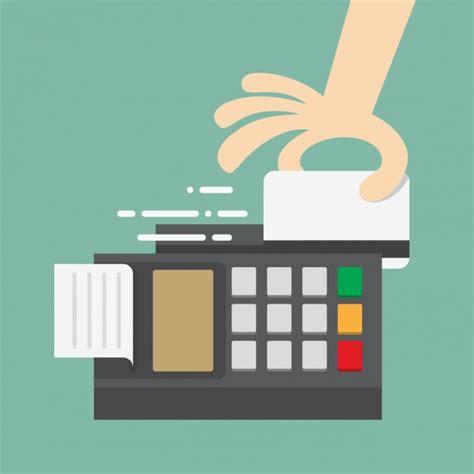 kreditkarte zahlen bezahlen mit kreditkarte der kostenlosen vektor