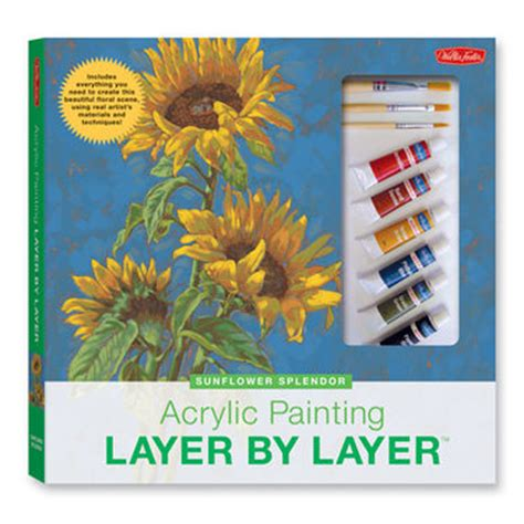 layering acrylic paint on canvas walter foster books from starvin artist