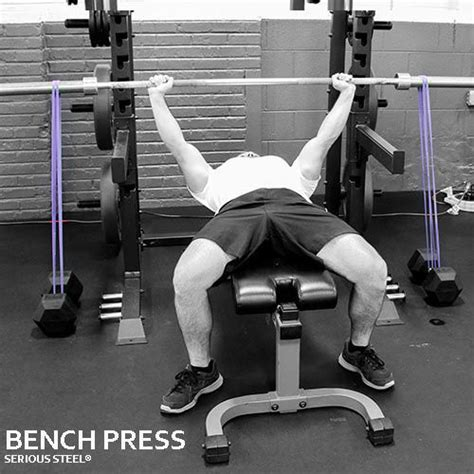bench press with resistance bands workout serious steel 41 quot assisted pull up dip band resistance