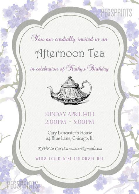 free afternoon tea invitation template orderecigsjuice info