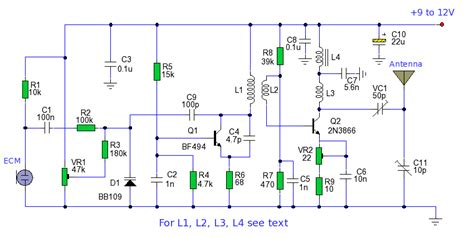 varactor diode fm generator communication fm transmitter and transmission electrical engineering stack exchange