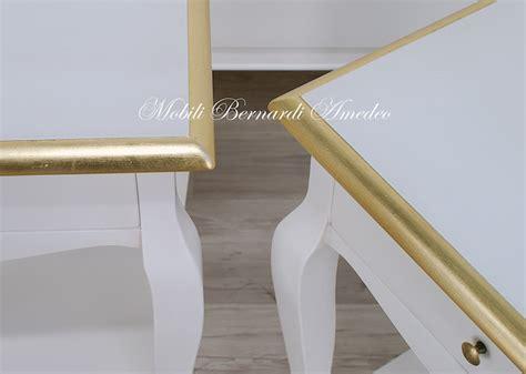 comodini laccati bianchi mobiletti e comodini tavolini