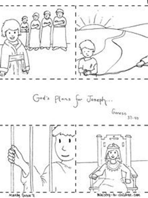 sunday school coloring pages for joseph story of joseph in jail craft printable available from