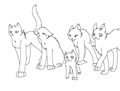 cat family coloring page 17 images of warrior cat family coloring pages warrior